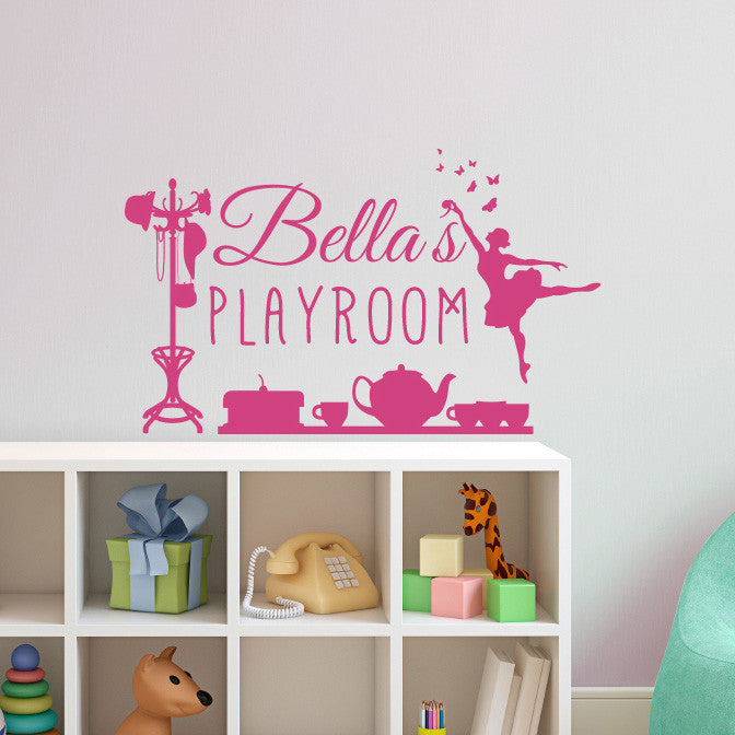 Custom Personalized Sign for a Girl - Dana Decals - 1