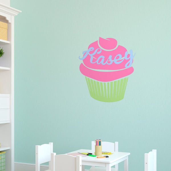 Personalized Cupcake - Dana Decals - 1