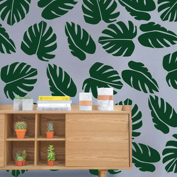 Large Palm Leaf Pattern - Dana Decals - 1
