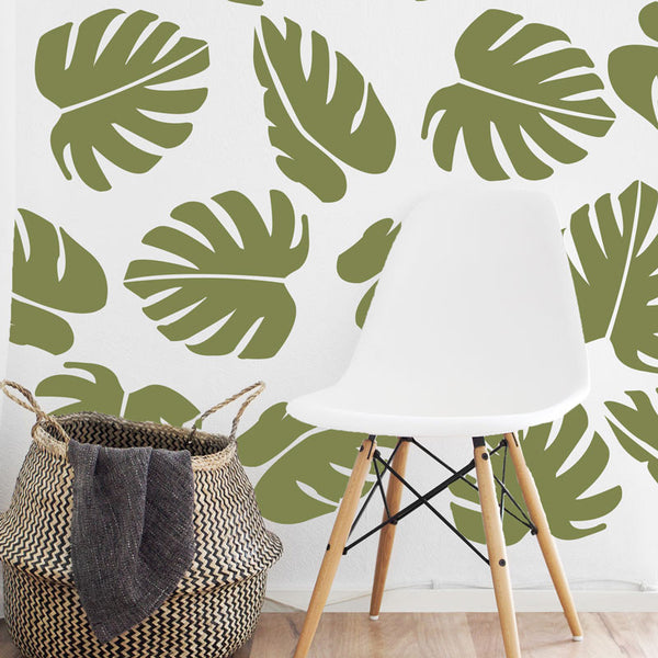 Large Palm Leaf Pattern - Dana Decals - 2