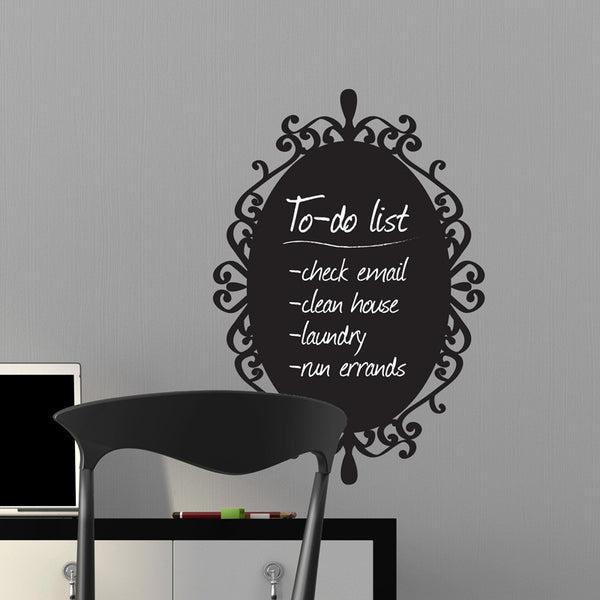 Decorative Chalkboard Frame - Dana Decals - 1