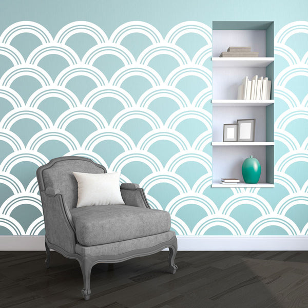 Art Deco Pattern - Dana Decals - 1
