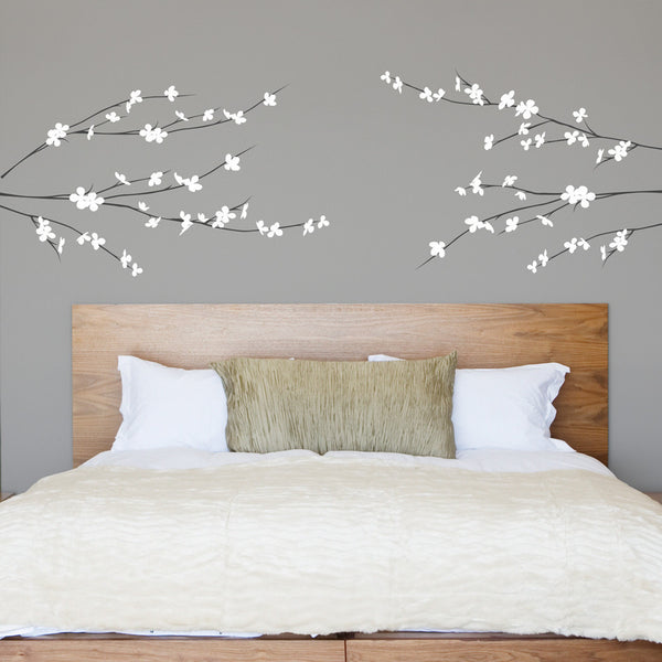 Dogwood Floral Branches - Dana Decals