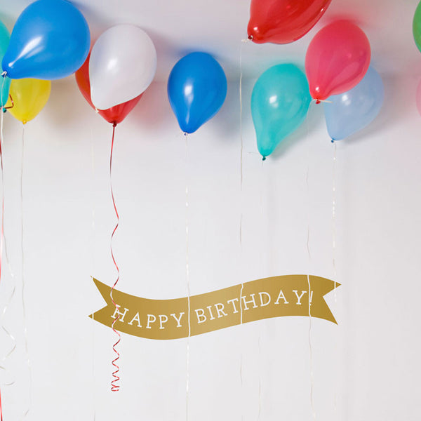 Birthday Banner - Dana Decals - 1
