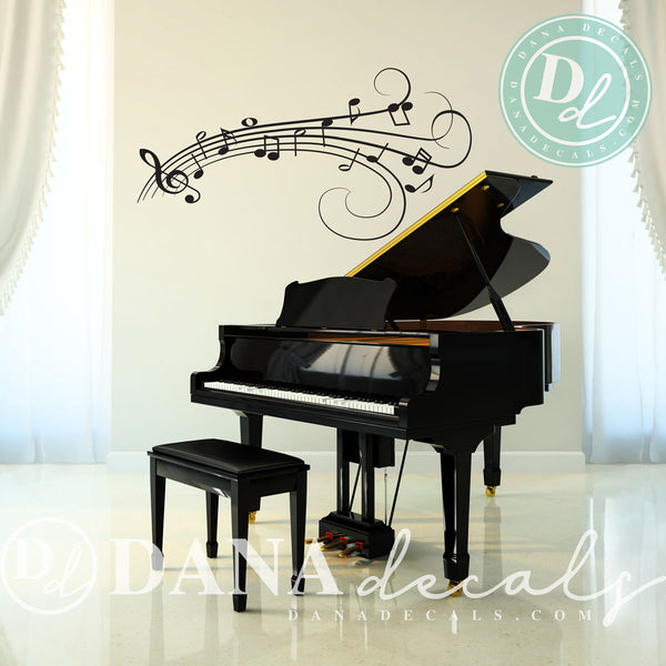 Music Notes - Dana Decals