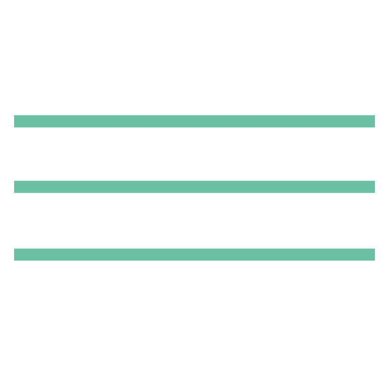 Small Stripe 3-Pack in Mint SALE - Dana Decals