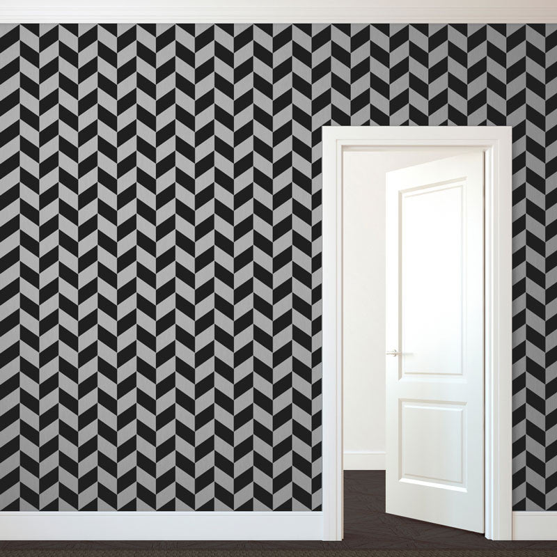 Modern Herringbone Pattern - Dana Decals - 1