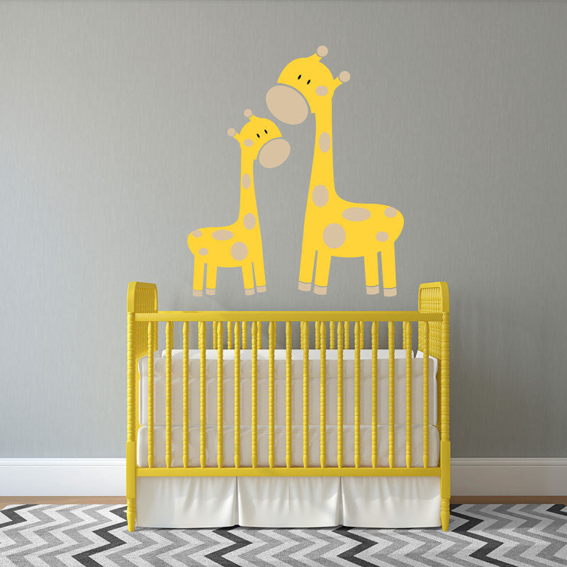 Mom & Baby Giraffe - Dana Decals - 1