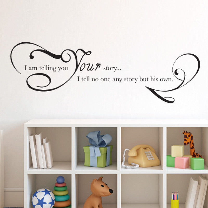 Your Own Story Chronicles of Narnia Aslan Quote - Dana Decals