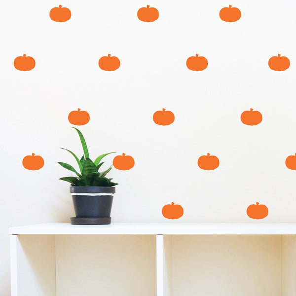 Halloween Pumpkin Pattern Vinyl Decals - Dana Decals - 1