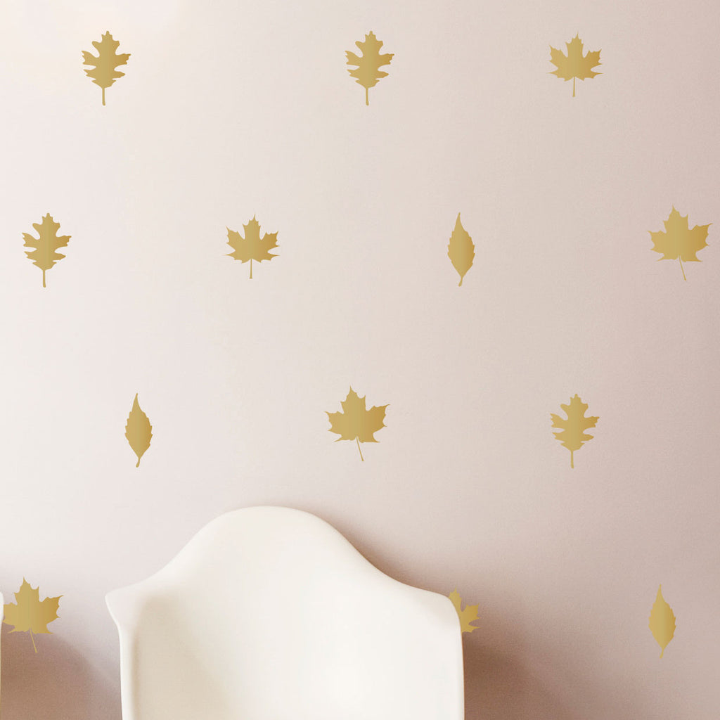 buy autumn leaves pattern wall decals shop decals at dana decals