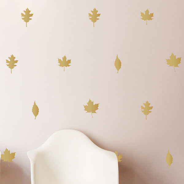 Autumn Leaves Pattern Vinyl Decals - Dana Decals - 1