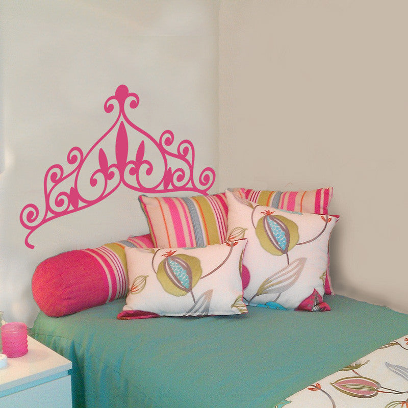 Princess Tiara Headboard - Dana Decals - 1
