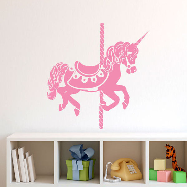 Carousel Unicorn - Dana Decals - 1