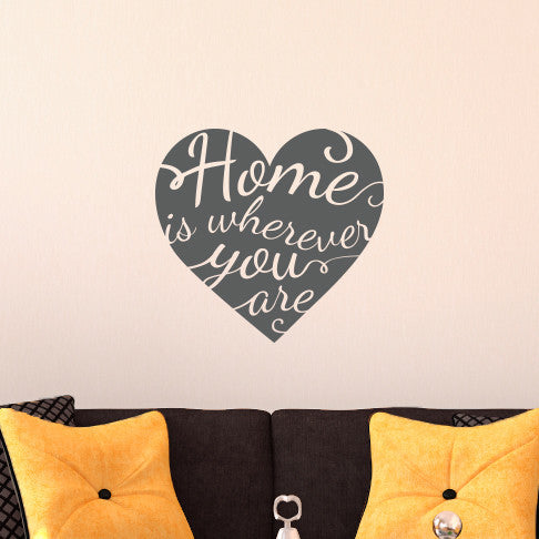 Home is Wherever You Are - Dana Decals - 1