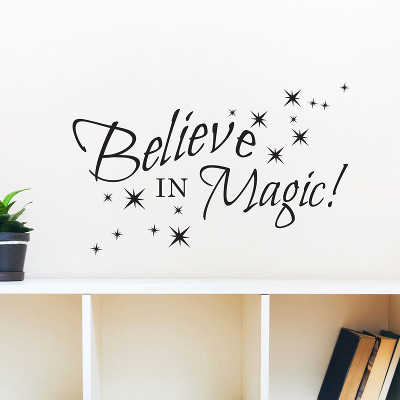 Believe in Magic Quote - Dana Decals