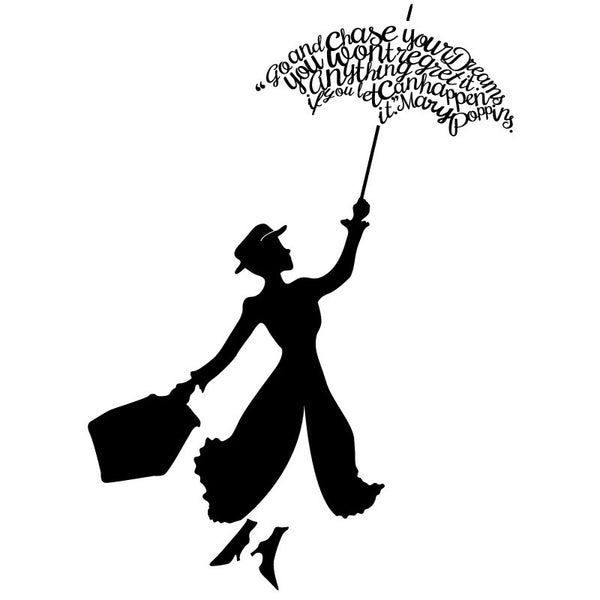 Mary Poppins If You Let it Quote Decal   Shop Decals from ...