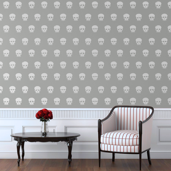 Skull Faces Pattern - Dana Decals - 1