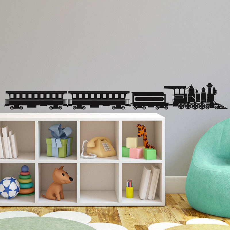 Steam Engine Train - Dana Decals