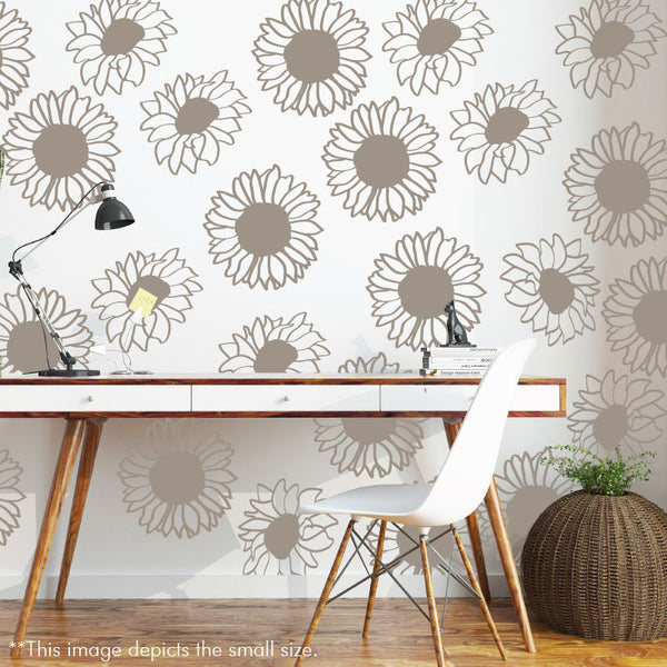 Sunflower Pattern - Dana Decals - 1