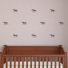 Tiny Zebras Pattern - Dana Decals - 1