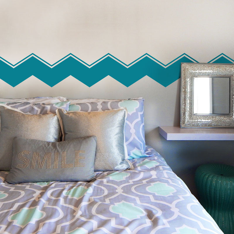 Accented Chevron Stripes - Dana Decals