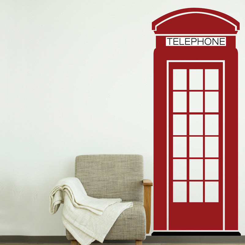 London Phone Booth - Dana Decals