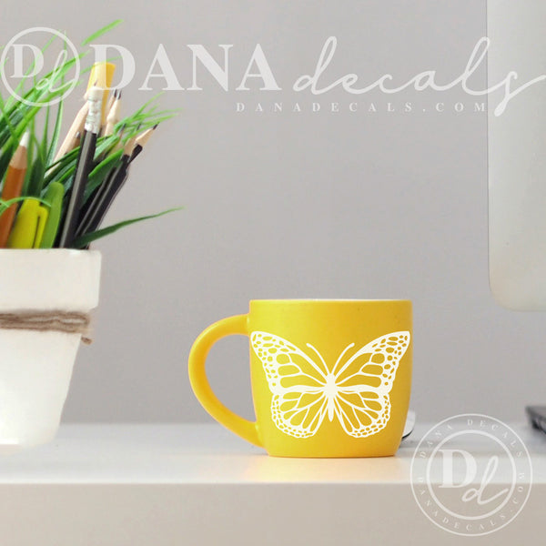 Small Monarch Butterfly Decal