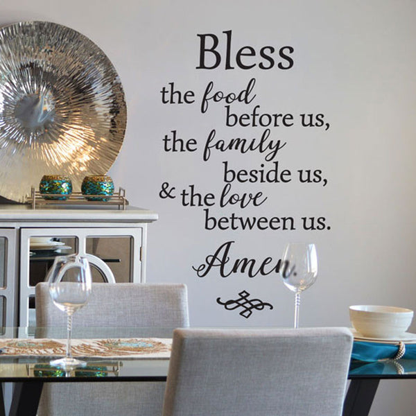 Bless the Food Before Us - Dana Decals - 1
