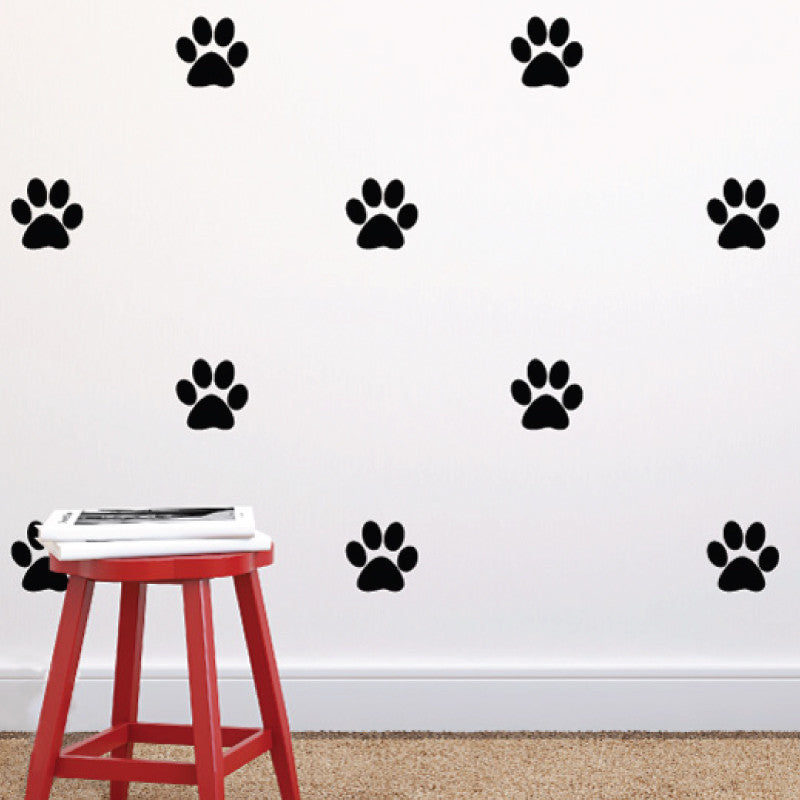 Paw Print Pattern - Dana Decals