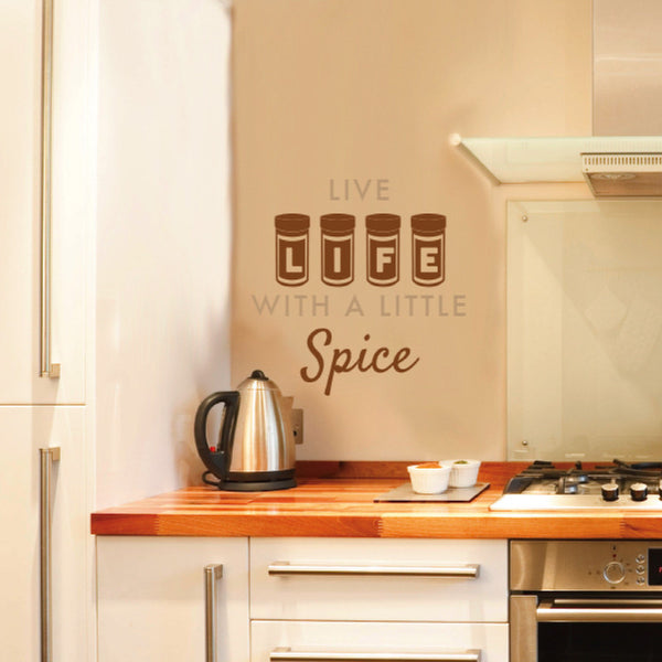 Live Life with a Little Spice - Dana Decals - 1
