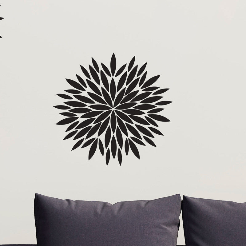 Modern Flower Pattern - Dana Decals - 1