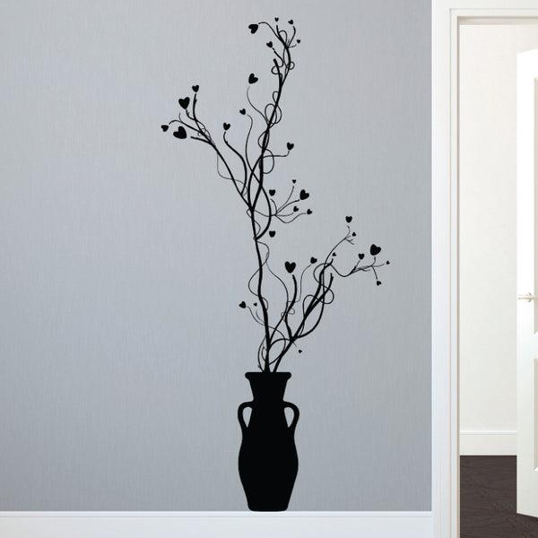 Organic Floral Vines - Dana Decals - 1