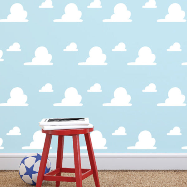 Toy Story Inspired Cloud Pattern - Dana Decals - 1