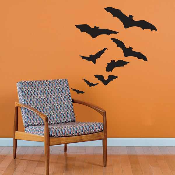 Flock of Bats - Dana Decals - 1