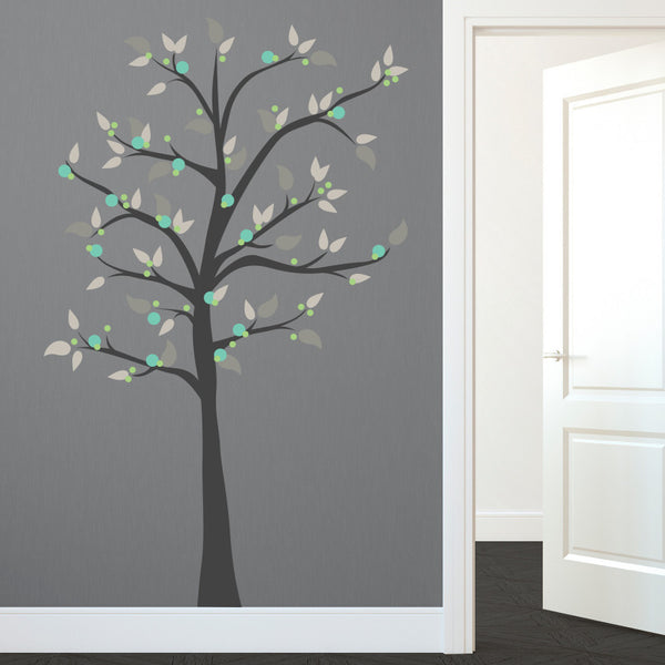 Modern Whimsical Dot Tree - Dana Decals - 1