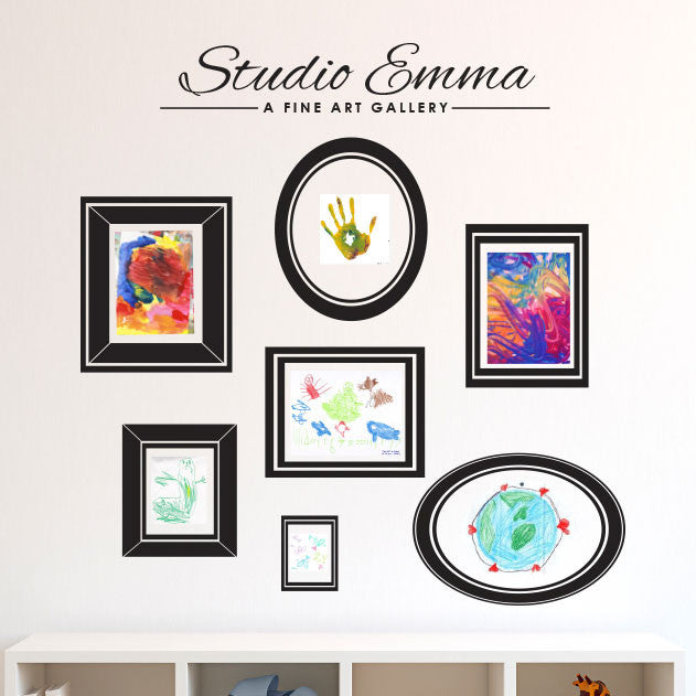 Personalized Art Studio Gallery - Dana Decals - 1