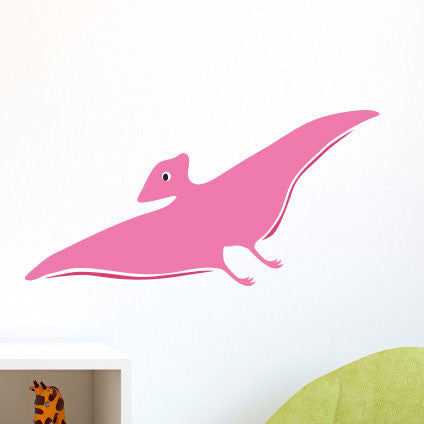 Happy Friendly Pterodactyl - Dana Decals