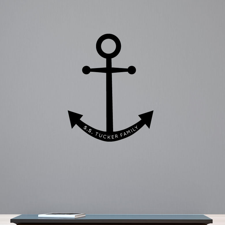 Personalized Anchor - Dana Decals