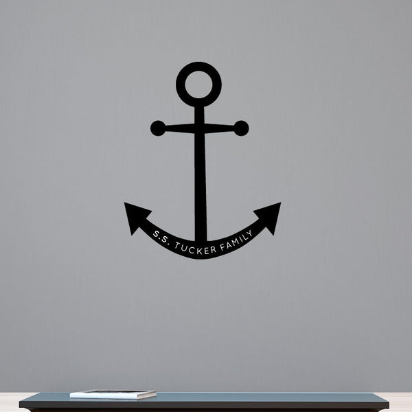 Personalized Anchor - Dana Decals - 1