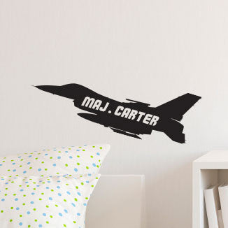 Personalized AIR FORCE Jet - Dana Decals - 1