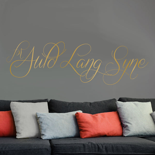 Auld Lang Syne - Dana Decals - 1