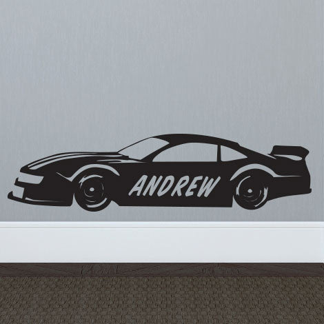 Personalized Race Car - Dana Decals - 1