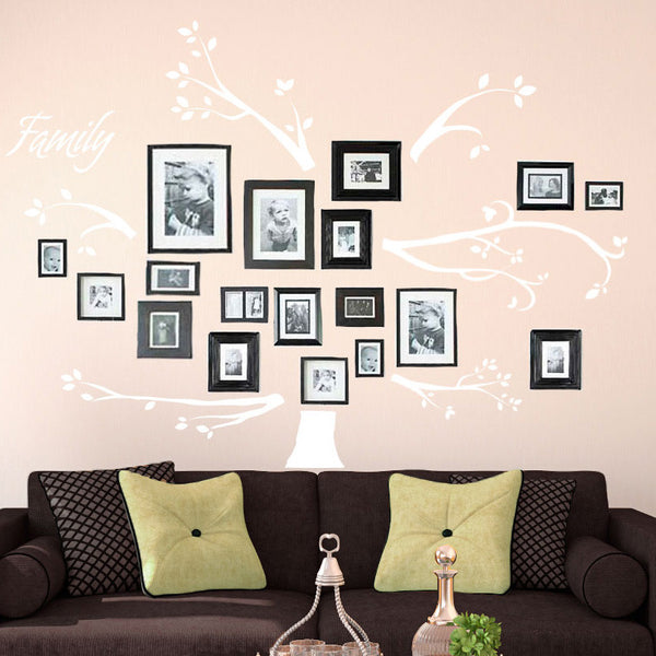 Personalized Family Tree Branches and Name - Dana Decals - 1
