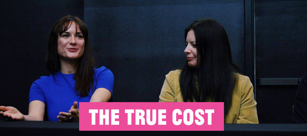 Andrea Plell Daniela Degrassi at The True Cost Screening