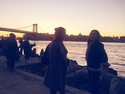 Eise and Monica in New York City