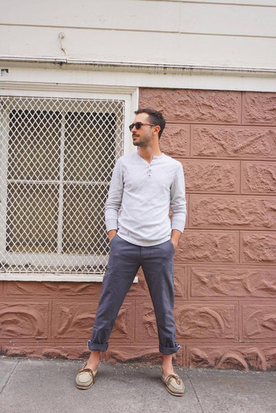 Standard Issue Utility Chino Pant in Gray