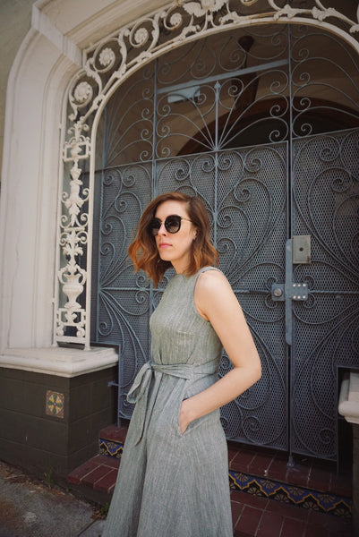 Casey Dress in Olive