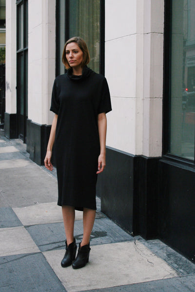 Lindsay Dress in Jet Black