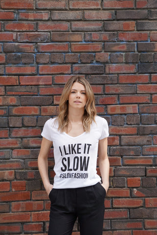 I Like It Slow #SlowFashion Tee